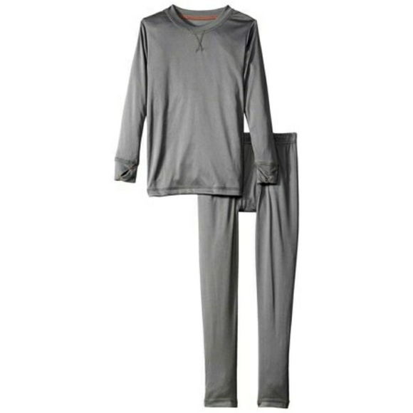 75f955ba612d Cuddl Duds Pajamas   Boys Gray Thermal Underwear Set   Poshmark